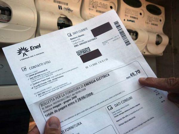 Bollette Enel e importi sbagliati, ecco come ottenere il rimborso