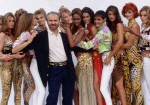 Gianni Versace supermodelle