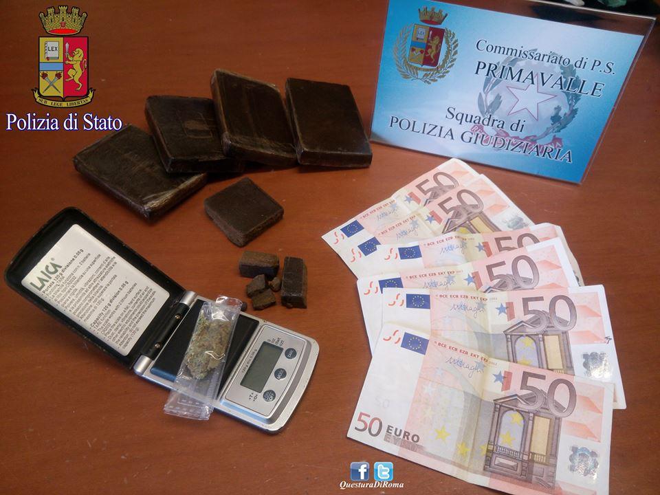Roma, nascondeva in casa armi e droga: arrestato uomo di 46 anni