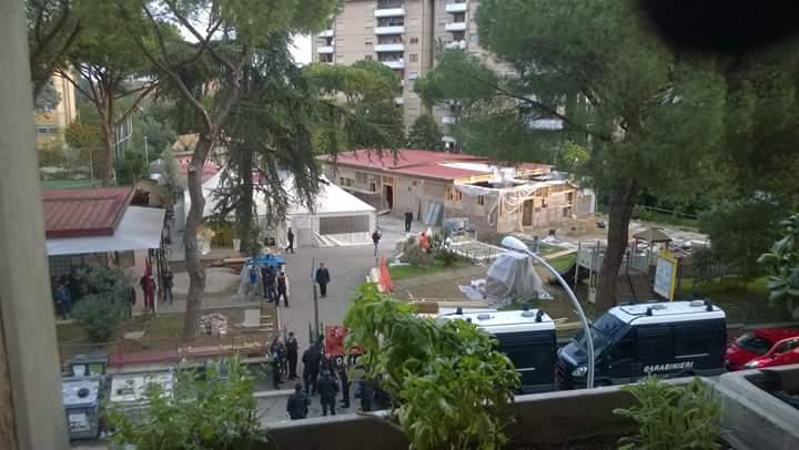 Roma, centro sociale Corto Circuito: sequestro della Polizia