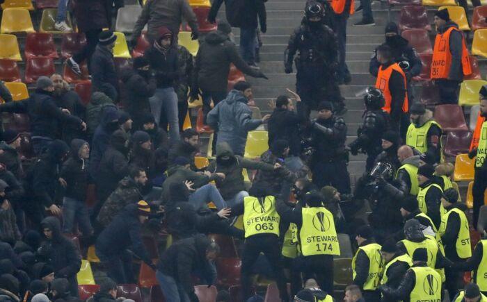 Roma, cori anti-Lazio nel minuto di silenzio per la Chapoecoense