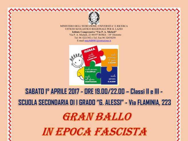 Scuola media di Roma organizza