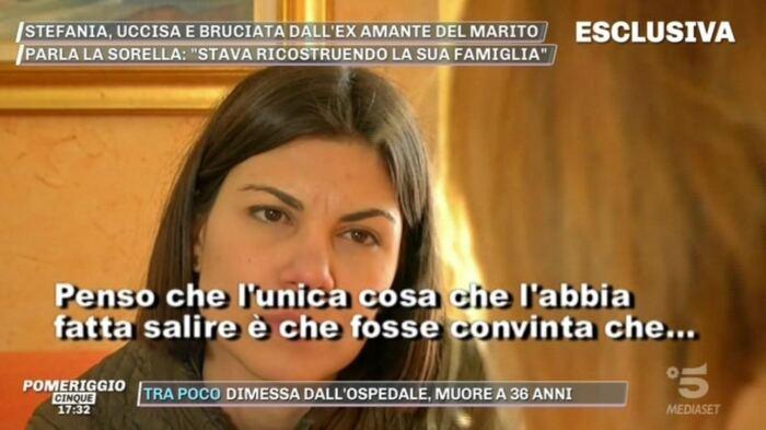 Omicidio Stefania Crotti, parla la sorella: \